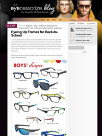 SuperflexKids Eyecessorize Blog July 31 2015