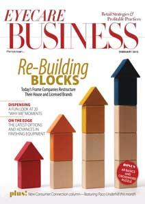 Eyecare Business Feb 2015